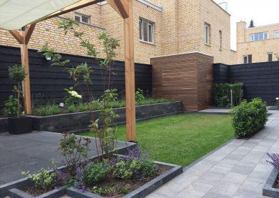 Eindhoven moderne achtertuin